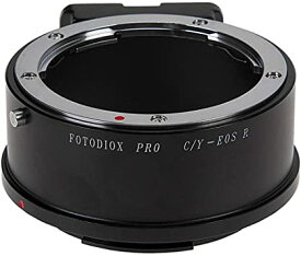 Fotodiox プロ レンズ Mount Adapter Compatible with Contax/Yashica (CY) SLR Lenses to キャノン Canon RF (EOS-R) Mount Mirrorless Camera Bodies (海外取寄せ品)