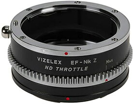 Vizelex ND スロットル レンズ Mount Adapter Compatible with キャノン Canon EOS EF (NOT EF-S) DSLR レンズ to Nikon Z-Mount Mirrorless Camera Body with ビルトイン Variable ND フィルタ (1 to 8 Stops) (海外取寄せ品)