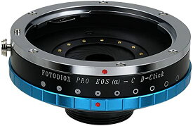 Fotodiox プロ レンズ Mount Iris Adapter Compatible with キャノン Canon EOS EF Lenses to C-mount Cameras (海外取寄せ品)