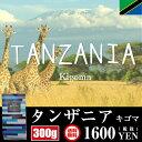 タンザニア キゴマ 300g 送料無料 キリマンジャロとしても有名な国 香り、酸味、ボディ、申し分なし!どっしり… これこれ!