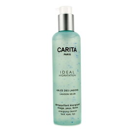 CaritaIdeal Hydratation Lagoon Gelee Energising Cleanser For Face Eyes and Lipカリタアイディールハイドレーションジェリーエナジャイジングク【楽天海外直送】