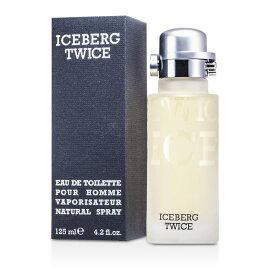 Iceberg Twice Eau De Toilette Spray アイスバーグ トゥワイス EDTスプレー 125ml/4.2oz 【楽天海外直送】