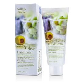 3W Clinic Hand Cream - Olive 3Wクリニック ハンドクリーム - オリーブ 100ml/3.38oz 【楽天海外直送】