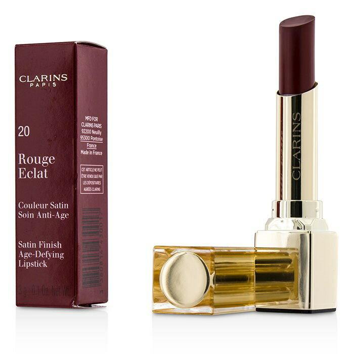 ClarinsRouge Eclat Satin Finish Age Defying Lipstick - # 20 Red FuchsiaクラランスRouge Eclat Satin Finish Age Defy【楽天海外直送】