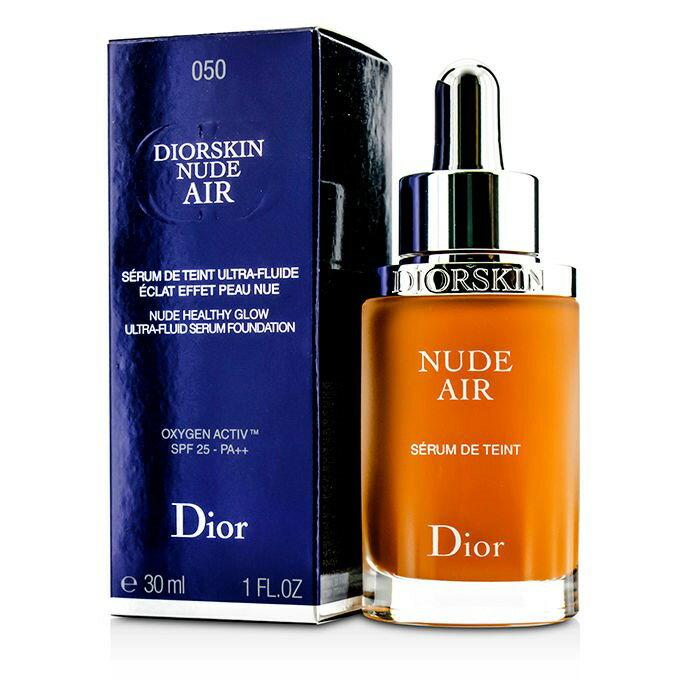 Christian DiorDiorskin Nude Air Serum Foundation SPF25 - # 050 Dark Beigeクリスチャンディオールディオールスキン ヌード エアー フルイド SPF【楽天海外直送】