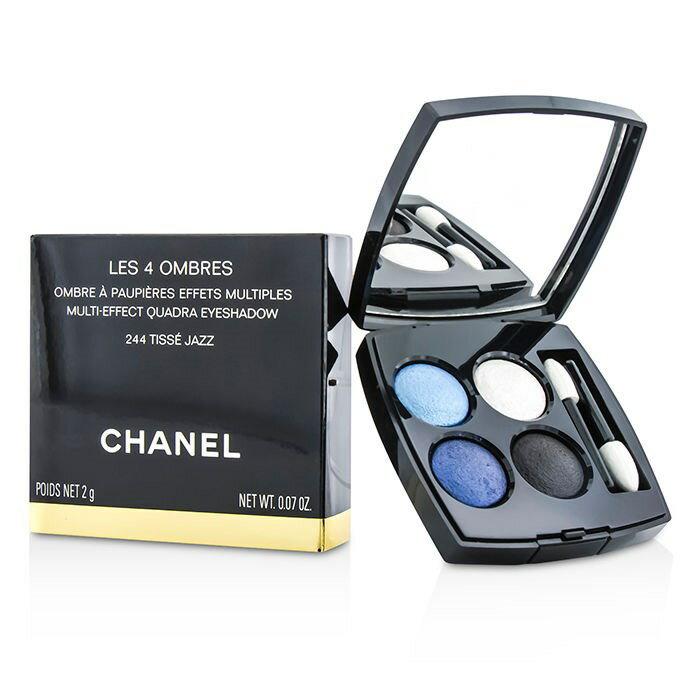 ChanelLes 4 Ombres Quadra Eye Shadow - No. 244 Tisse Jazzシャネルレ キャトル オンブル - No. 244 ティセ ジャズ 2g/0.07oz【楽天海外直送】