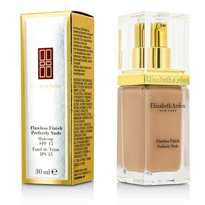 Elizabeth ArdenFlawless Finish Perfectly Nude Makeup SPF 15 - # 14 Cameoエリザベスアーデンフローレスフィニッシュ パーフェクトリー ヌード メイク【楽天海外直送】