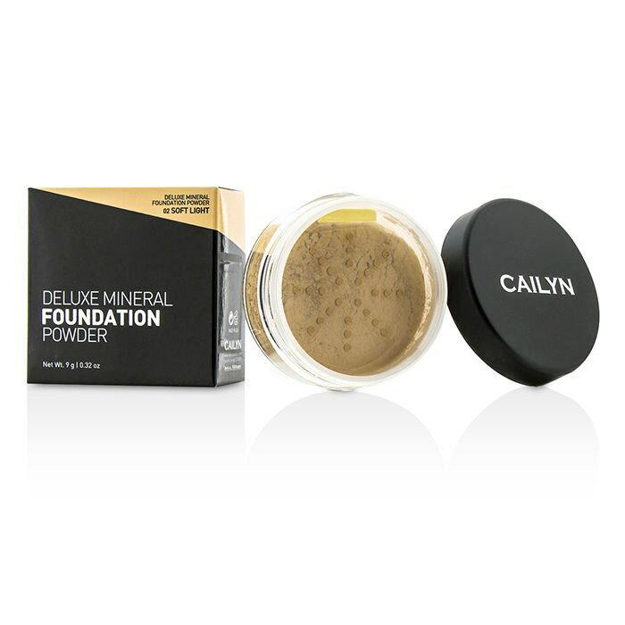 CailynDeluxe Mineral Foundation Powder - #02 Soft LightケイリンDeluxe Mineral Foundation Powder - #02 Soft Light 【楽天海外直送】