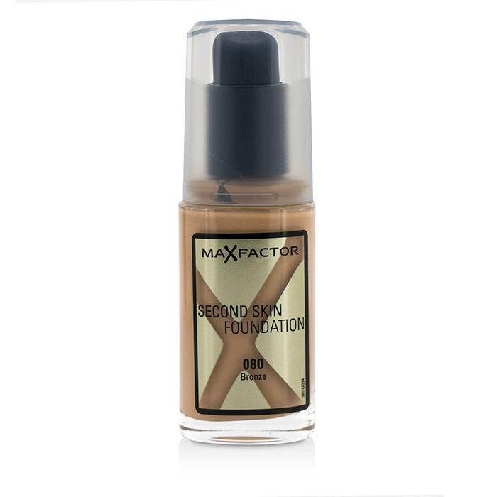 Max FactorSecond Skin Foundation - #080 Bronzeマックスファクターセカンドスキン ファンデーション - #080 ブロンズ 30ml/1oz【楽天海外直送】