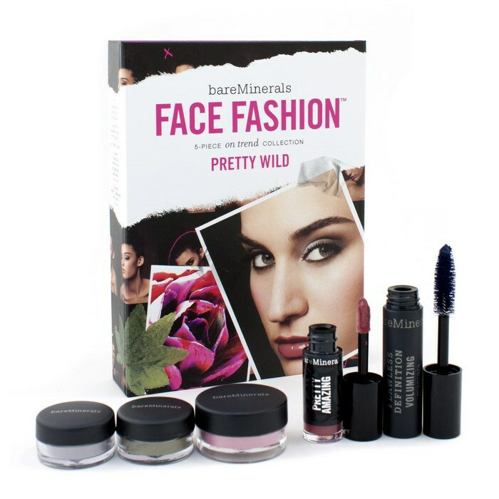 BareMineralsBareMinerals Face Fashion Collection (Blush + 2x Eye Color + Mascara + Lipcolor) - The Look Of Now Pretty【楽天海外直送】