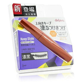 Dejavu Keep Style Mascara - Jet Black デジャヴュ Keep Style Mascara - Jet Black 7.2g/0.25oz 【楽天海外直送】
