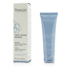 Thalgo Cold Cream Marine Deeply Nourishing Mask - For Dry, Sensitive Skin タルゴ Cold Cream Marine Deeply Nouri 【楽天海外直送】