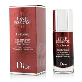 【月間優良ショップ受賞】 Christian Dior One Essential Eye Serum Eye Zone Detoxifying Radiance-Boosting Care クリスチャン ディオール One Essentia 送料無料 【楽天海外直送】