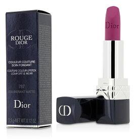 【月間優良ショップ受賞】 Christian Dior Rouge Dior Couture Colour Comfort & Wear Matte Lipstick - # 787 Exuberant Matte クリスチャン ディオール 送料無料 【楽天海外直送】