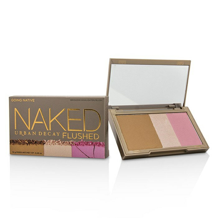 Urban DecayNaked Flushed - Going Native (1x Blush 1x Bronzer 1x Highlighter)アーバンディケイNaked Flushed - Going N【楽天海外直送】