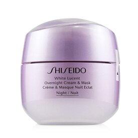 Shiseido White Lucent Overnight Cream & Mask 資生堂 ホワイト ルーセント オーバーナイト クリーム & マスク 75ml/2.6oz 【楽天海外直送】