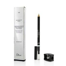 【月間優良ショップ受賞】 Christian Dior Diorshow Khol Pencil Waterproof With Sharpener - # 009 White Khol クリスチャン ディオール ディオールショウ クホール 送料無料 【楽天海外直送】