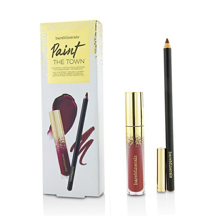 BareMineralsPaint The Town Lip SetベアミネラルPaint The Town Lip Set 2pcs【楽天海外直送】