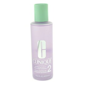 Clinique Clarifying Lotion 2 Twice A Day Exfoliator (Formulated for Asian Skin) クリニーク クラリファイングローション2 400ml/1 【楽天海外直送】