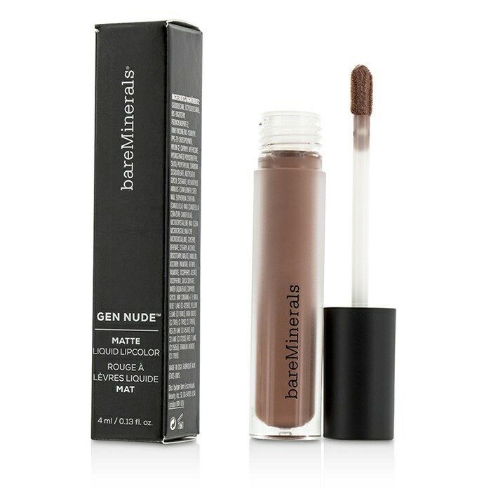 BareMineralsGen Nude Matte Liquid Lipcolor - IconベアミネラルGen Nude Matte Liquid Lipcolor - Icon 4ml/0.13oz【楽天海外直送】