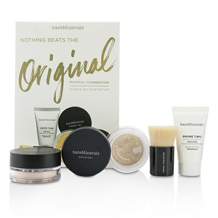BareMineralsGet Started Mineral Foundation Kit - # 03 Fairly LightベアミネラルGet Started Mineral Foundation Kit - 【楽天海外直送】