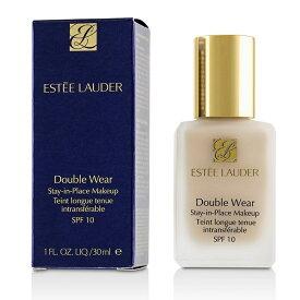 【月間優良ショップ受賞】 Estee Lauder Double Wear Stay In Place Makeup SPF 10 - Porcelain (1N0) エスティ ローダー Double Wear Stay In Place M 送料無料 【楽天海外直送】