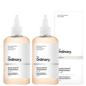 【月間優良ショップ受賞】The Ordinary Glycolic Acid 7% Toning Solution [Double Pack] The Ordinary Glycolic Acid 7% Toning Solution [D 【楽天海外直送】