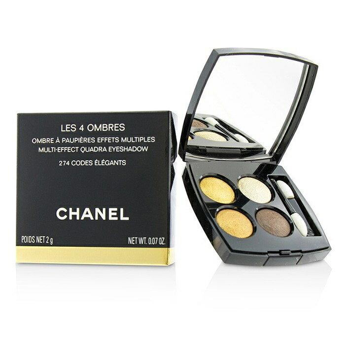 ChanelLes 4 Ombres Quadra Eye Shadow - No. 274 Code ElegantsシャネルLes 4 Ombres Quadra Eye Shadow - No. 274 Code【楽天海外直送】