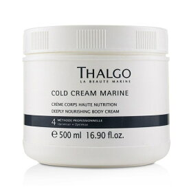 ThalgoCold Cream Marine Deeply Nourishing Body Cream (Salon Size)タルゴDeeply Nourishing Body Cream (Salon Size)【楽天海外直送】