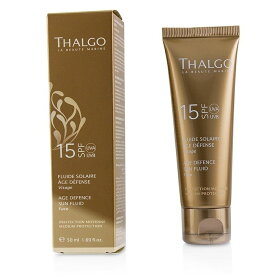 ThalgoAge Defence Sun Fluid For Face SPF15タルゴAge Defence Sun Fluid For Face SPF15 50ml/1.69oz【楽天海外直送】