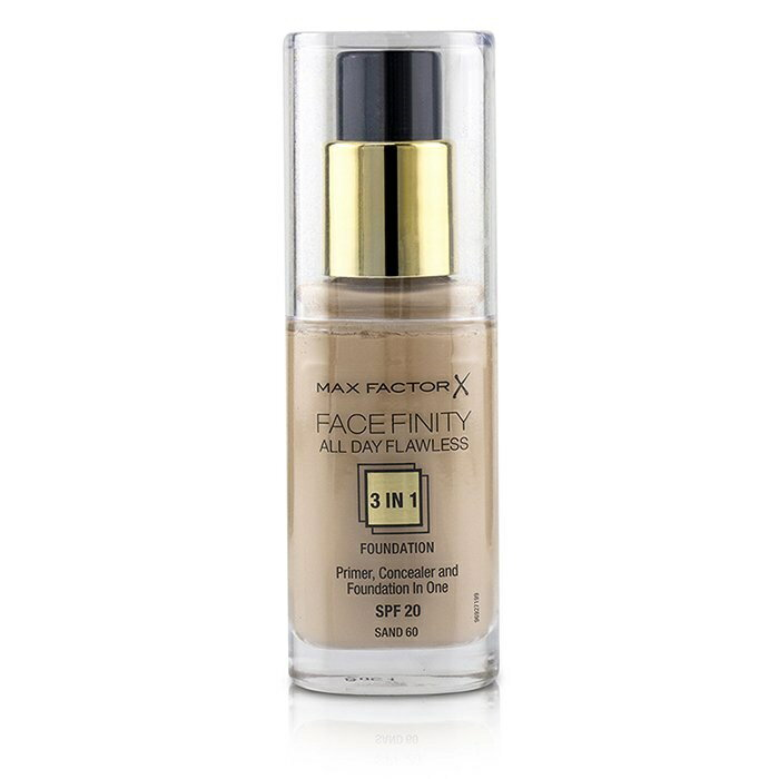 Max FactorFace Finity All Day Flawless 3 in 1 Foundation SPF20 - #60 SandマックスファクターFace Finity All Day Flawles【楽天海外直送】