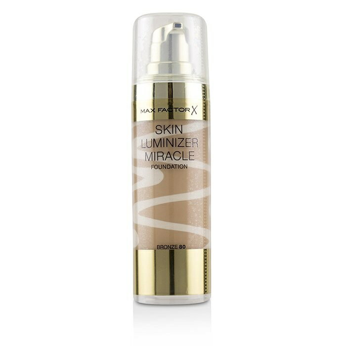 Max FactorSkin Luminizer Miracle Foundation - # 80 BronzeマックスファクターSkin Luminizer Miracle Foundation - # 80 Br【楽天海外直送】