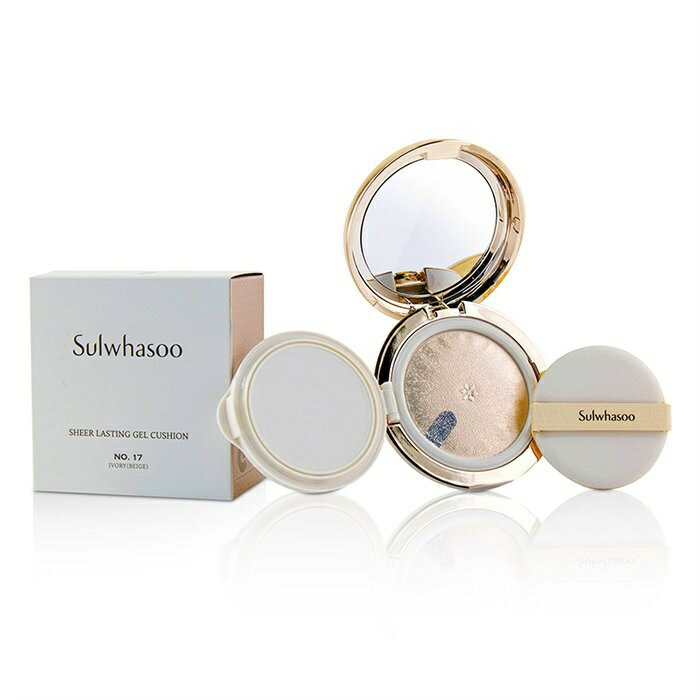 SulwhasooSheer Lasting Gel Cushion SPF 35 - # No.17 Ivory (Beige)ソルファスSheer Lasting Gel Cushion SPF 35 - # No【楽天海外直送】