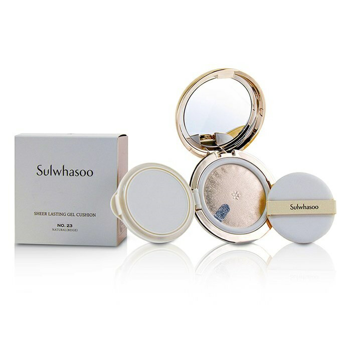 SulwhasooSheer Lasting Gel Cushion SPF 35 - # No.23 Natural (Beige)ソルファスSheer Lasting Gel Cushion SPF 35 - # 【楽天海外直送】