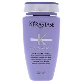 【月間優良ショップ受賞】 Kerastase Blond Absolu Bain Ultra-Violet Shampoo ケラスターゼ ブロンドアブソルベインウルトラバイオレットシャンプー 8.5 oz 送料無料 【楽天海外直送】