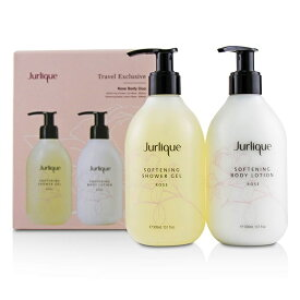JurliqueRose Body Duo Set: Softening Rose Shower Gel 300ml/10oz + Rose Softening Body Lotion 300ml/10ozジュリークR【楽天海外直送】