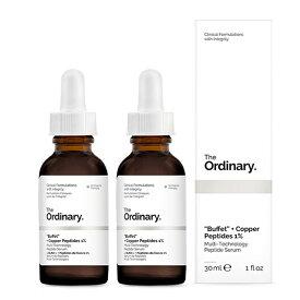 【月間優良ショップ受賞】The OrdinaryBuffet + Copper Peptides 1% [Double Pack]The OrdinaryBuffet + Copper Peptides 1% [Double Pack] 2 【楽天海外直送】