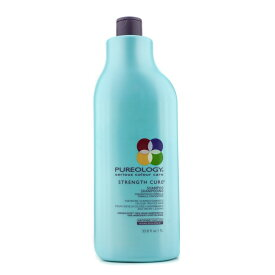 PureologyStrength Cure Shampoo (For Micro-Scarred/Damaged Colour-Treated Hair)ピュアロジーストレングスキュアシャンプー (ダメージを受けた/【楽天海外直送】