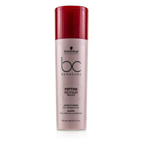 Schwarzkopf BC Bonacure Peptide Repair Rescue Conditioner (For Damaged Hair) シュワルツコフ BC Bonacure Peptide Rep 【楽天海外直送】