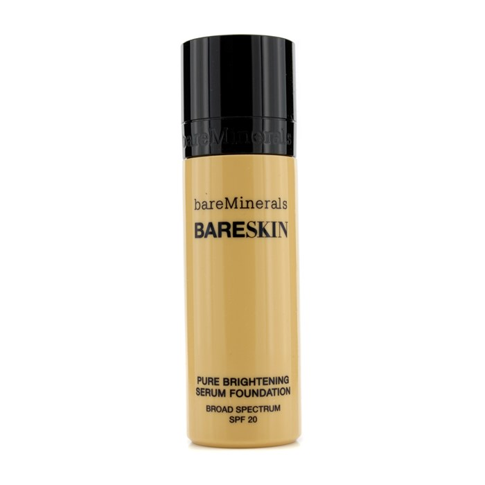BareMineralsBareSkin Pure Brightening Serum Foundation SPF 20 - # 10 Bare Buffベアミネラルベアスキンピュアブライトニングセラム ファンデーシ【楽天海外直送】
