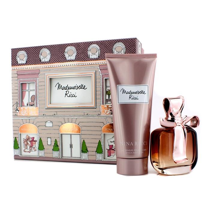 Nina RicciMademoiselle Ricci Coffret: Eau De Parfum Spray 80ml/2.7oz + Body Lotion 200ml/6.8ozニナリッチマドモワゼル リッチ【楽天海外直送】