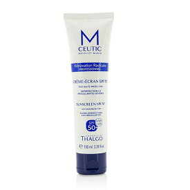 Thalgo MCEUTIC Sunscreen SPF 50+ UVA/UVB Very High Protection - Salon Size タルゴ MCEUTIC Sunscreen SPF 50+ UVA 【楽天海外直送】