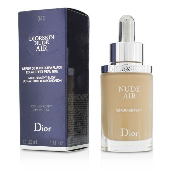 Christian DiorDiorskin Nude Air Serum Foundation SPF25 - # 040 Honey Beigeクリスチャンディオールディオールスキン ヌード エアー フルイド SP【楽天海外直送】