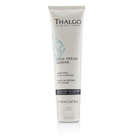 Thalgo Cold Cream Marine Deeply Nourishing Foot Cream - For Dry, Very Dry Feet (Salon Size) タルゴ Cold Cream M 【楽天海外直送】