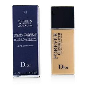 【月間優良ショップ受賞】 Christian Dior Diorskin Forever Undercover 24H Wear Full Coverage Water Based Foundation - # 020 Light Beige クリス 送料無料 【楽天海外直送】