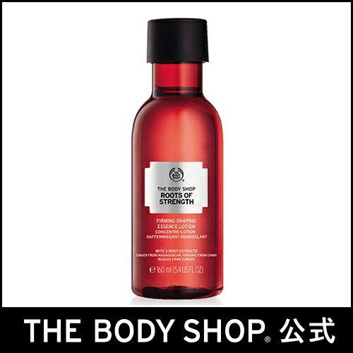 【正規品】 ザ・ボディショップ ルーツオブストレングス ファーミング エッセンスローション 160ml | 化粧水