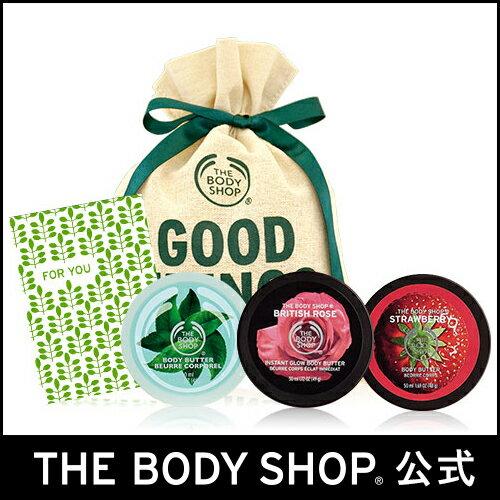 【正規品】<ギフト>ボディバタートリオ スウィート 【THE BODY SHOP(ザ・ボディショップ)】E)Body Butter Trio Sweet