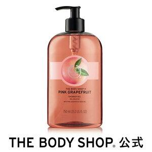 【正規品】<ボディシャンプー>シャワージェル ピンクグレープフルーツ 750ml 【THE BODY SHOP(ザ・ボディショップ)】PINK GRAPEFRUIT SHOWER GEL ボディソープ いい香り コスメ ギフト 女性 プレゼント