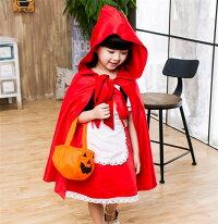 赤ずきんハロウィン衣装子供白雪姫ハロウインコスプレコスチュームハロウィン衣装プリンセスハロウィン服クリスマスイベント姫系仮装Halloweenパーティーセール