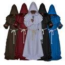 ハロウィン コスプレ コスチューム 神父 十字架牧師 宣教師 牧師 キリスト教 修士 大人用 メンズ 男性用 ホラー オバ…